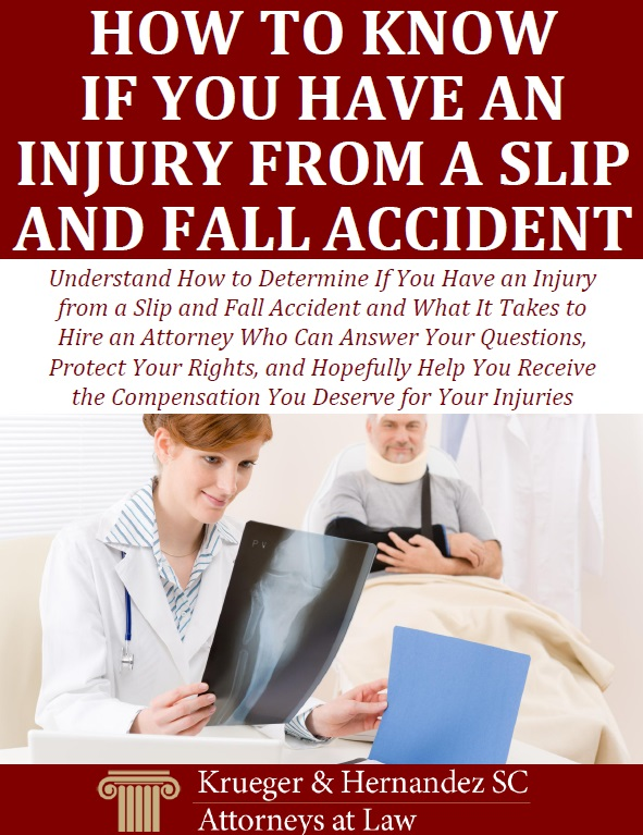 How to Know If You Have an Injury from a Slip and Fall Accident
