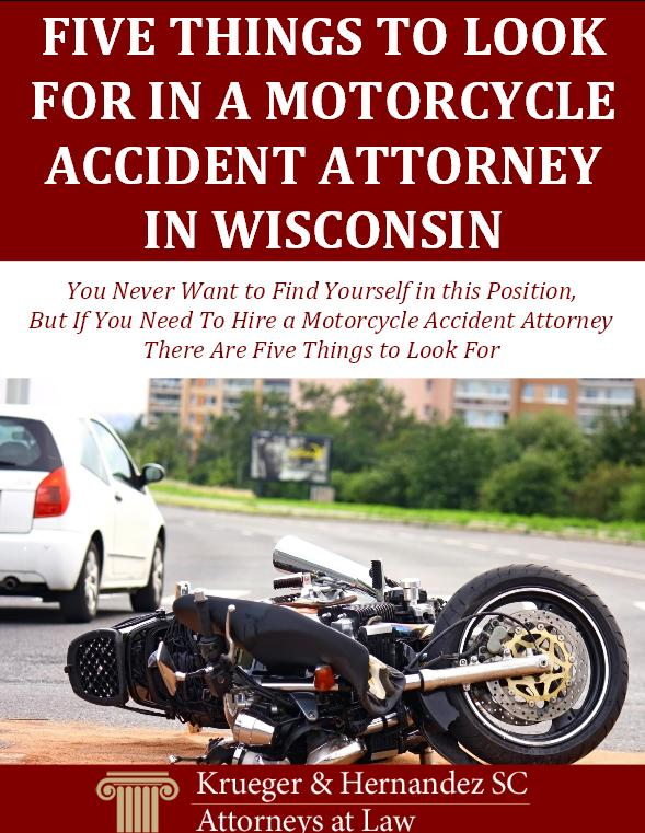 Five Things to Look for in a Motorcycle Accident Attorney in Wisconsin