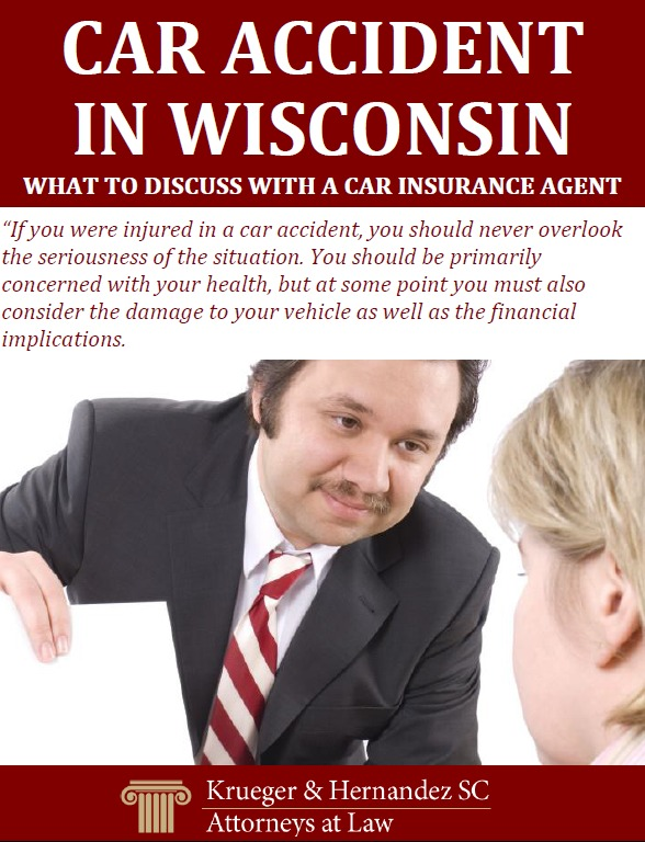 Car Accident in Wisconsin - What to Discuss With a Car Insurance Agent
