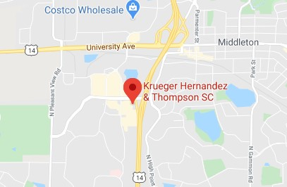 map for Krueger Hernandez & Thompson SC Estate ofice